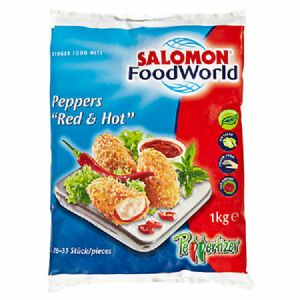 Salomon Peppers Red&Hot 6 x 1 kg Beutel
