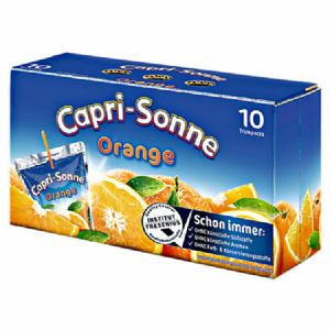 Capri Sonne Orange 10 x 10 x 0,2 l Tray