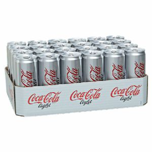 Coca Cola Cola Light Dose 24 x 0,33 l Tray