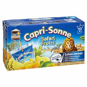 Capri Sonne Safari Fruits 10 x 10 x 0,2 l Beutel