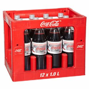 Coca Cola Light 12 x 1 l Flasche