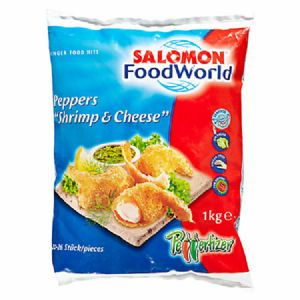 Salomon Peppers Shrimps & Cheese 3 x 1 kg Beutel