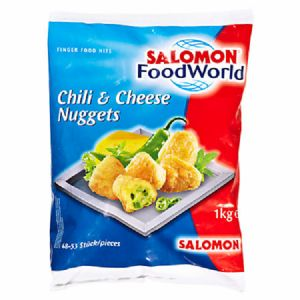 Salomon Chili & Cheese Nuggets 6 x 1 kg Beutel
