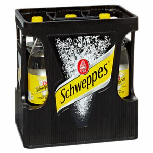 Schweppes Tonic Water 6 x 1 l Flasche