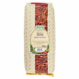 Fuchs Chillies ganze Schoten 500 g