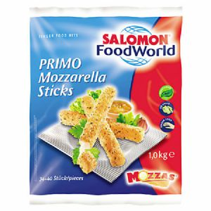 Salomon Primo Mozzarella Sticks 6 x 1 kg Beutel