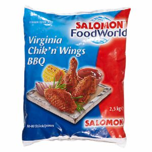 Salomon Virginia Chiknwings BBQ 4 x 2,5 kg Packung