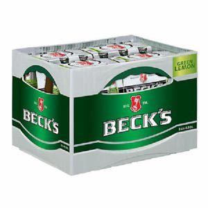 Beck's Green Lemon 24 x 0,33 l Flasche